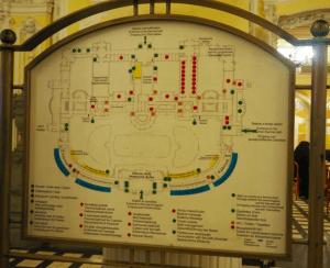 温泉内にあったマップ