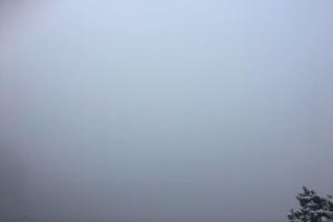 マリエン橋から絶景が見えるはずの光景(出典:著者撮影)