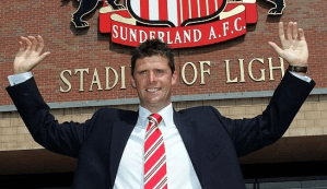 Niall Quinn at Sunderland: the chairman