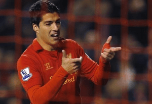 I just can't seem to get enough of Luis Suarez