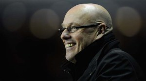 Leeds United manager Brian McDermott