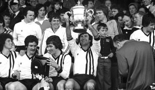 Dundalk v Limerick - FAI Cup Final 1977