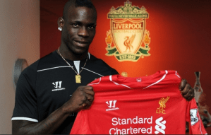 Mario Balotelli could leave Liverpool for China