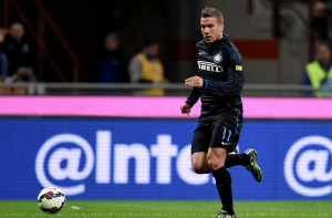 Lukas Podolski finding no respite in Italy as patience is wearing thin