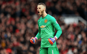 David de Gea can break the 19 year award drought