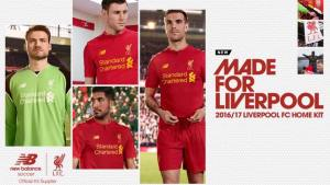 Pic: Liverpool's new kit is leaked online by New Balance