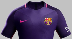 Pic: Barcelona reveal new purple and pink away kit by Nike
