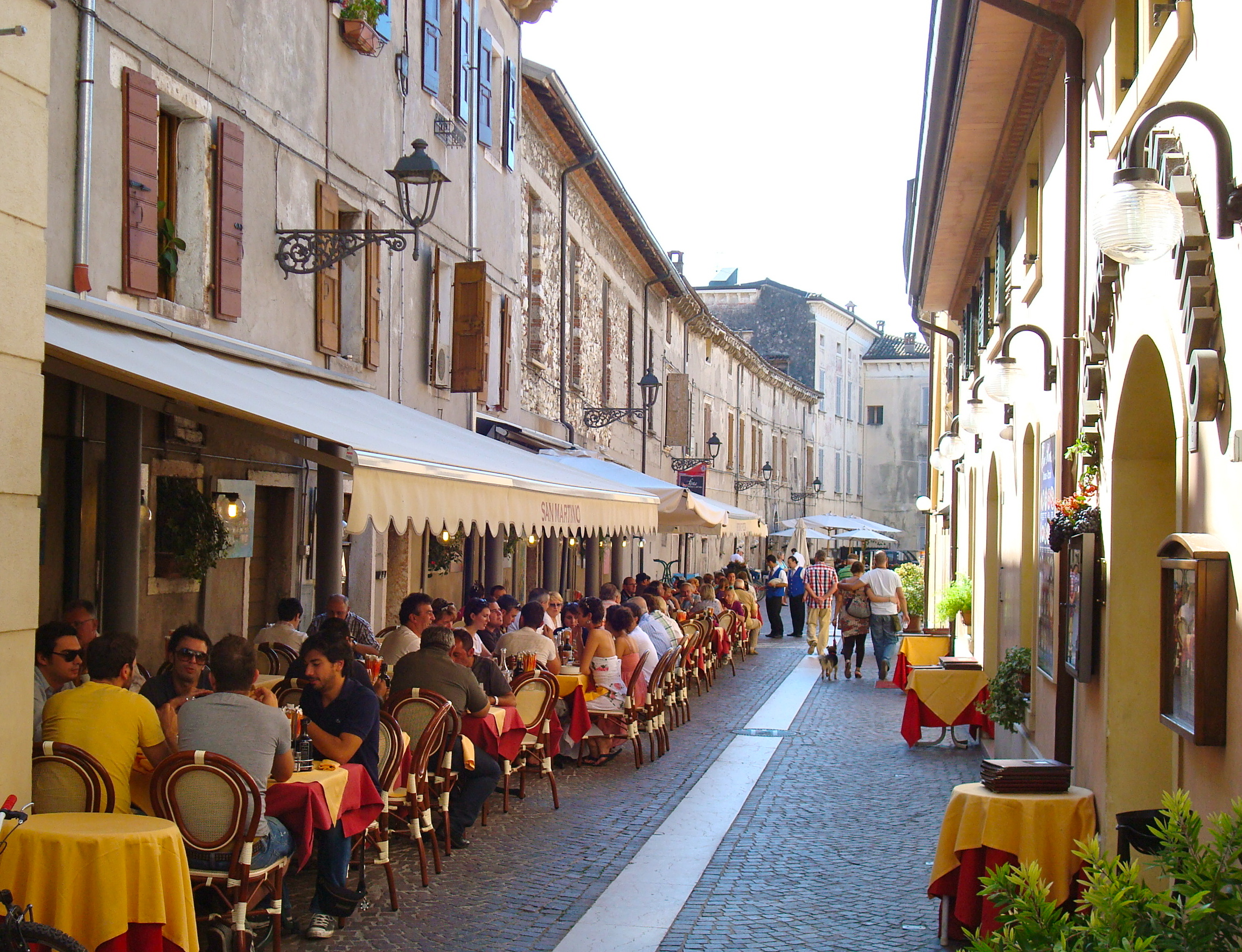 Restaurants In Bardolino Lake Garda And The Bardolino Wine Festival Back Road Journal