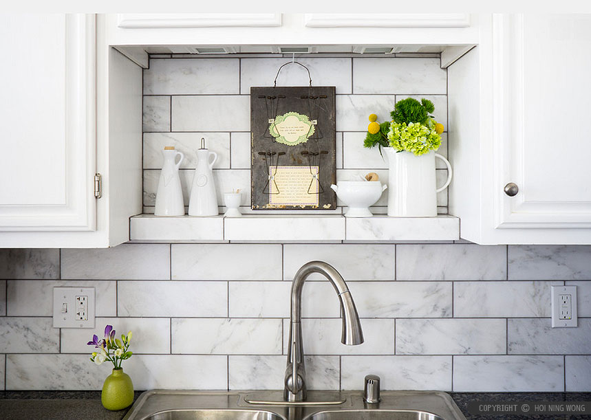 white gray vain colors mixed subway kitchen backsplash tile kitchen subway tile backsplash classic sweetest digs