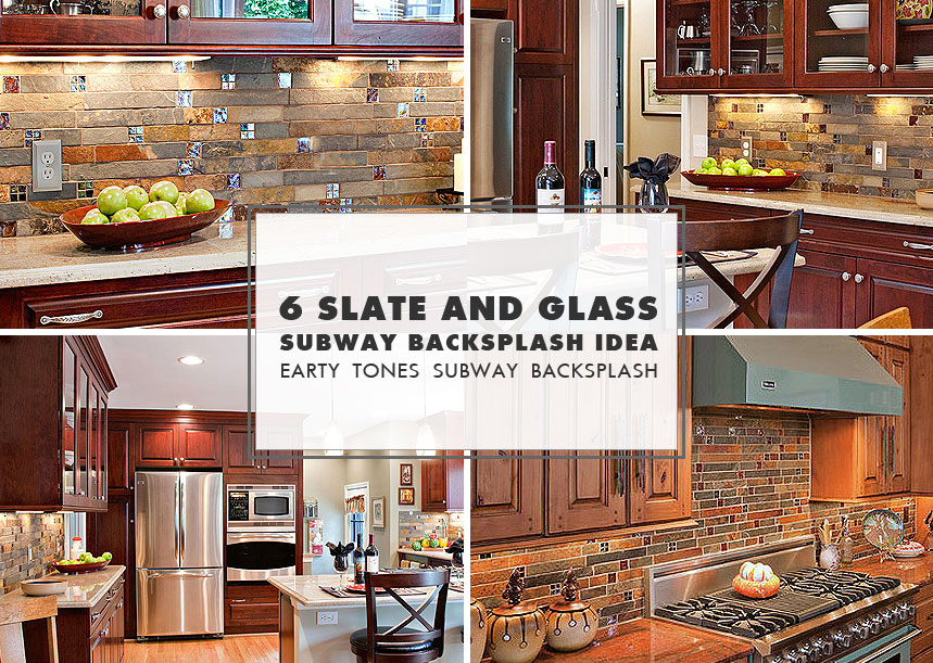 slate mosaic brown rusty kitchen backsplash tile backsplash kitchen subway tile backsplash classic sweetest digs