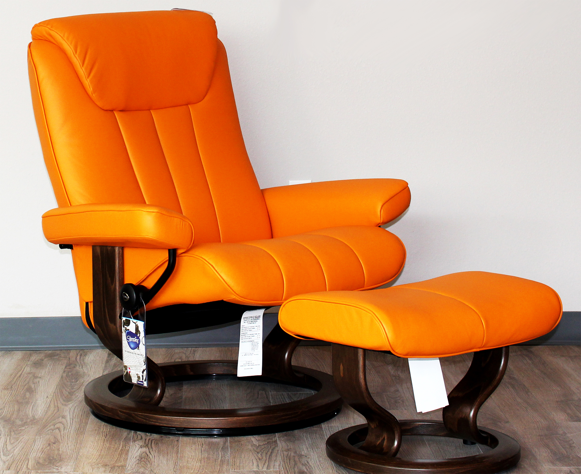 Sressless Stressless Bliss Paloma Clementine Leather Recliner Chair By Ekornes
