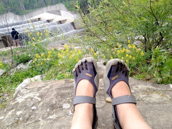 me hike vibrams stock