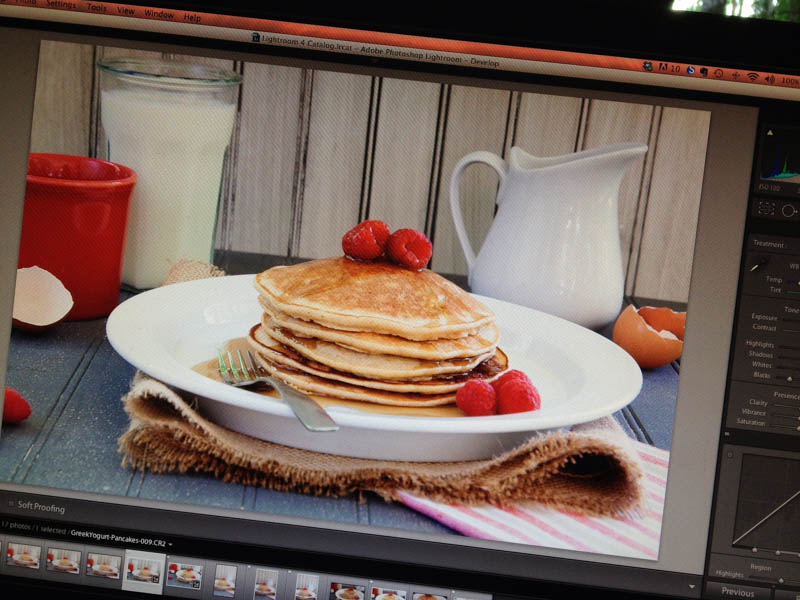 pancakes lightroom