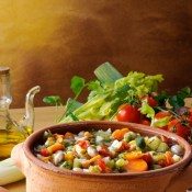 Garden Vegetable Soup - Back To My Roots