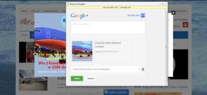 rc 06 google+ share