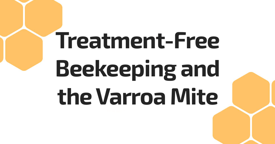 Treatment-Free Beekeeping Varroa Mite Beepods