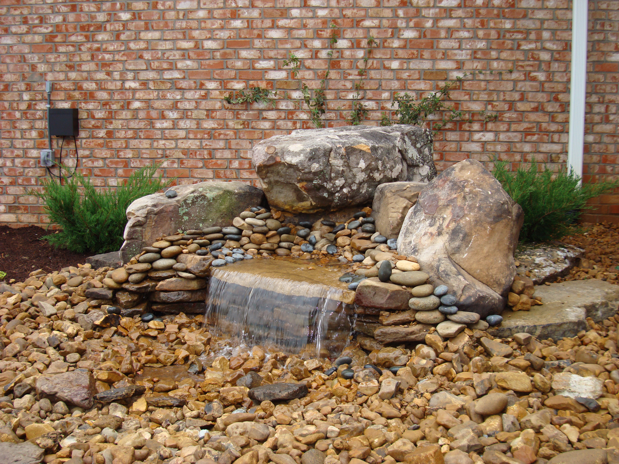 How to build a pondless waterfall pictures to pin on pinterest