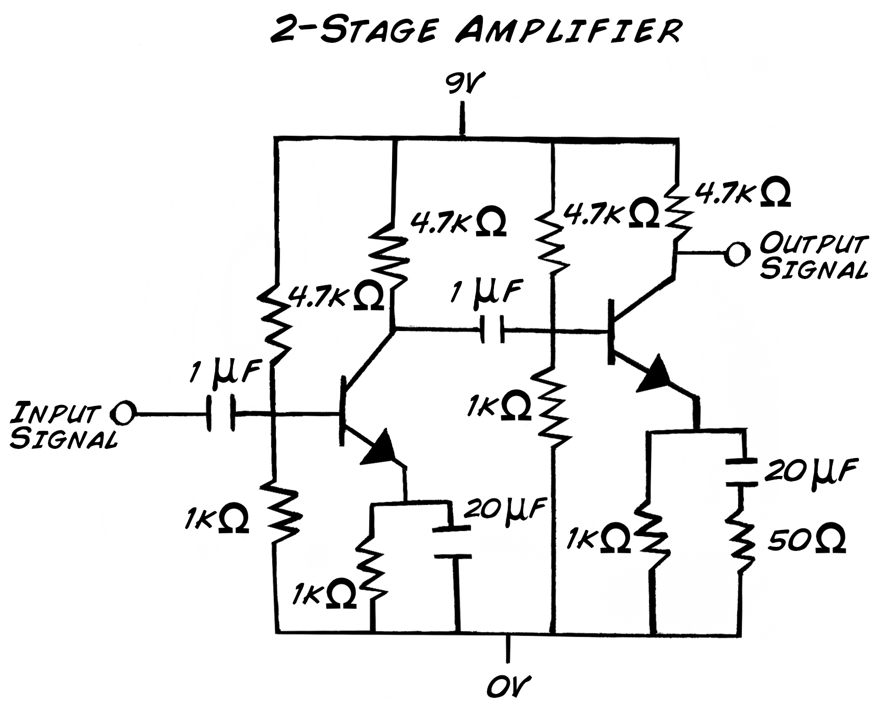 simple timer with transistor circuit diagram electronic circuits