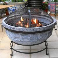 Clay Fire Pit