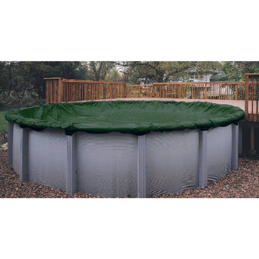Above Ground Pool Winter Cover Winter Cover Pool Size 30ft Round 12 Yr Green