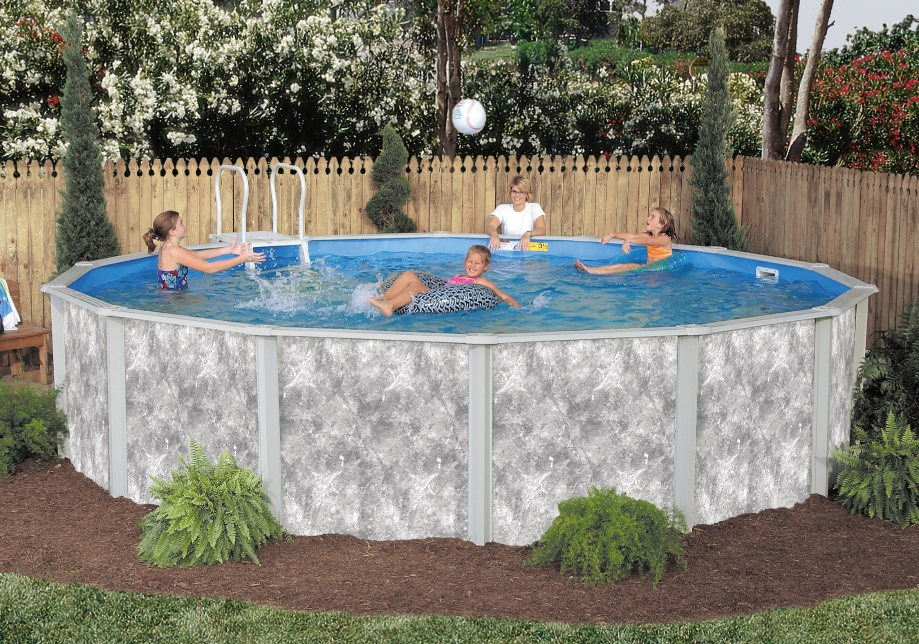 Jacuzzi Pool Installation Above Ground Pools Backyard Dreams