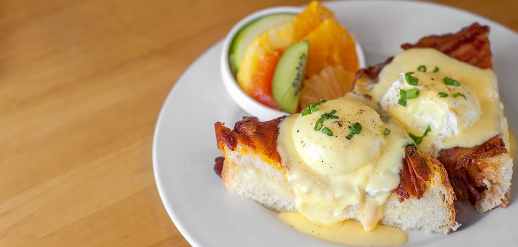 grilled cheese benedict