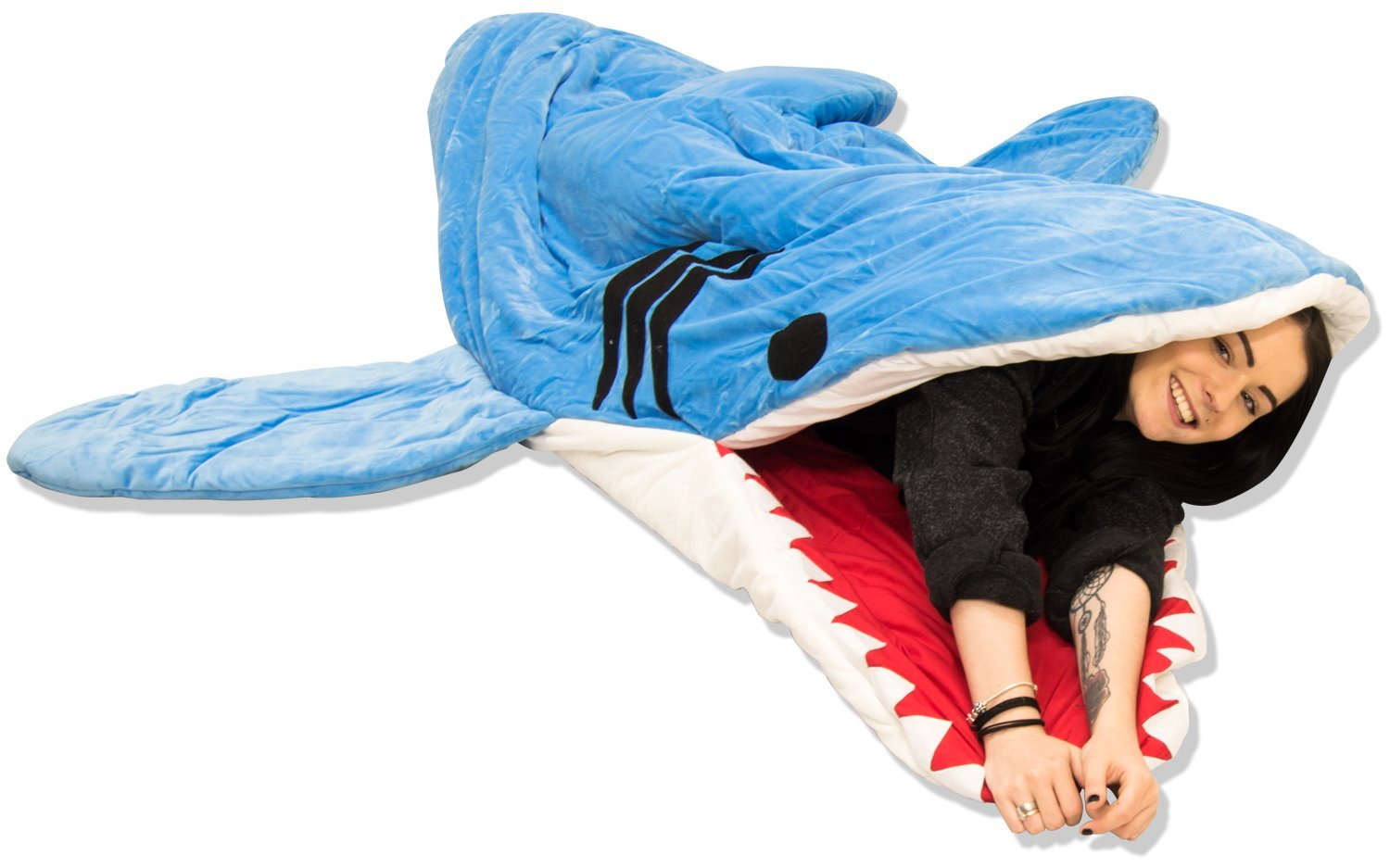 Shark Sleeping Bag Shark Sleeping Bag Baconbeer Co Uk The Coolest Products