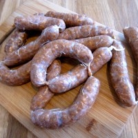 Fresh Made Andouille Sausage- Easier Than You Think