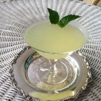 Summer Drinks - Pisco Mint Smash