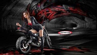 Zeneos Turino - Kawasaki Versys Custom
