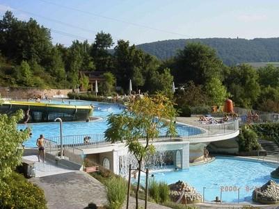 Terrassen-Freibad in Bad Kissingen - bad kissingen