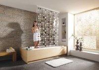 Duschabtrennung - Spritzschutz fr Dusche und Badewanne