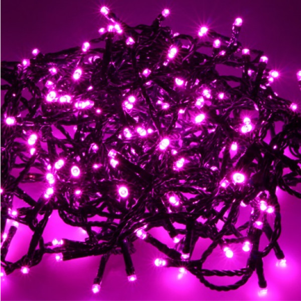Guirlande Led Couleur Guirlande Lumineuse 240 Led Rose, Decoration De Noel