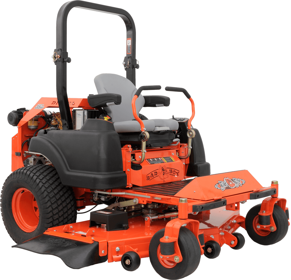 Bad Diesel Set Bad Boy Mower Diesel Series