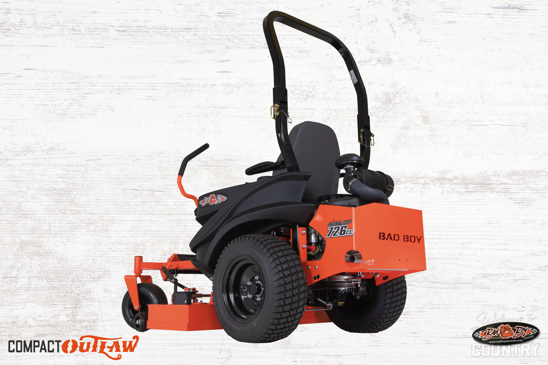 Compact Bad Zero Turn Commercial Lawn Mowers Ez Ride System Bad Boy Mowers