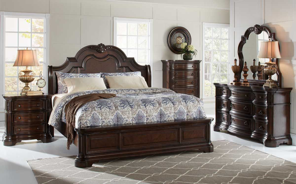 Alexandria 5 Pc Bedroom Group Badcock Home Furniture More