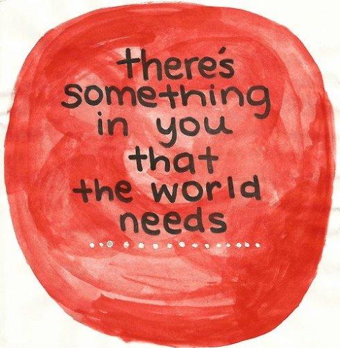 2013 - 1the world needs