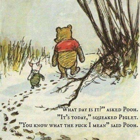 winnie the pooh what day is it