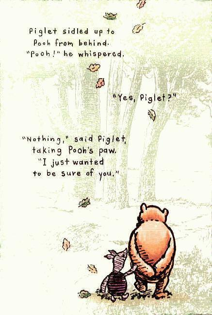 winnie the pooh sure of you