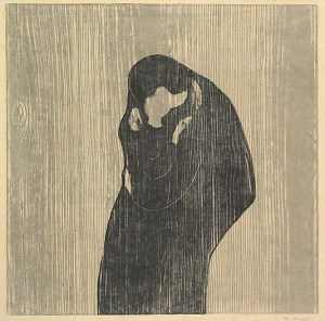 The Kiss IV, Edvard Munch.  Image courtesy Metropolitan Museum of Art .