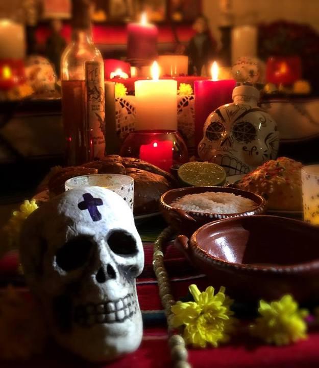 Altar for Dia de los Muertos, Jose Luis Silva