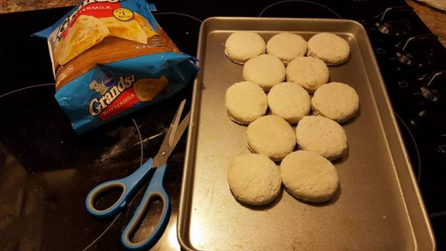 Modern southern biscuits