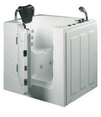 Senioren Dusche Sitzbadewanne Sitzwanne Badewanne mit Tr ...