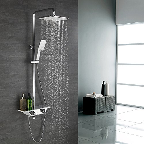 Dusche Rainshower Homelody 3-funktion Regal Duschsystem Mit Thermostat