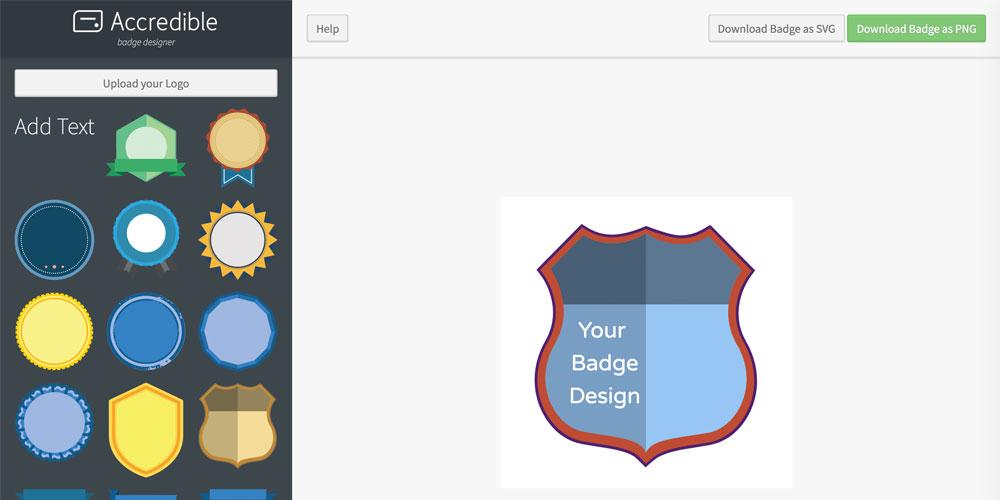 Badge Designer - Create beautiful open badges