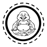 Buddha Belly Badge