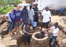 Volunteering in Africa - well