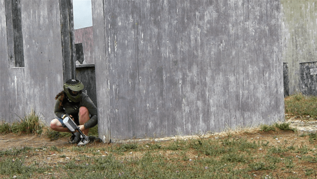 paintball - crouch