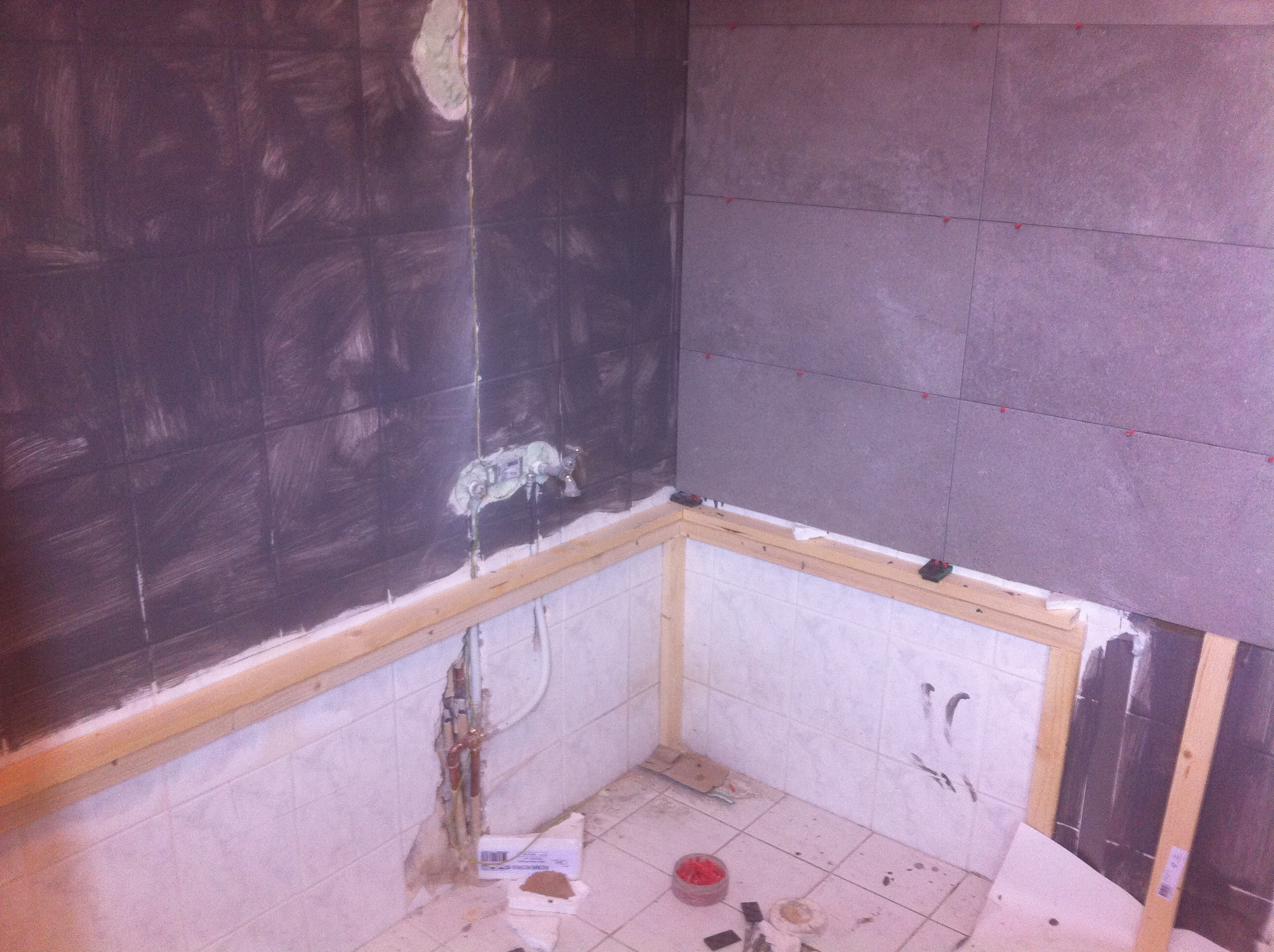 Bad Plaatsen Badkamer Gallery Of Renovatie Douche En In Elst With Douche Aanleggen