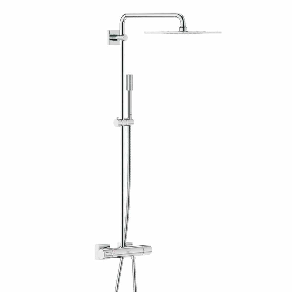 Grohe Euphoria Douchesysteem 180 Chroom Grohe Rainshower F Series Systeem 254 Douchesysteem